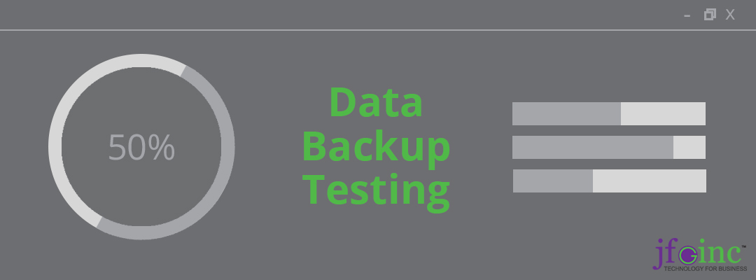 Why You Need To Run Data Backup Testing