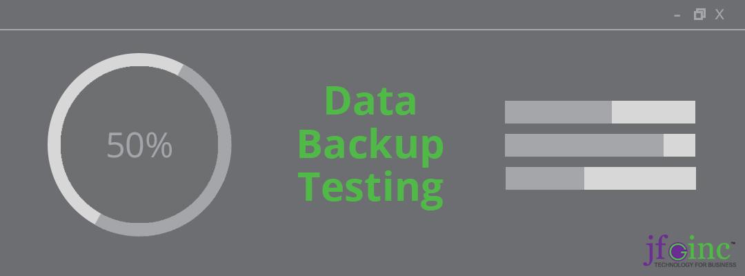 Why You Need To Run Data Backup Testing